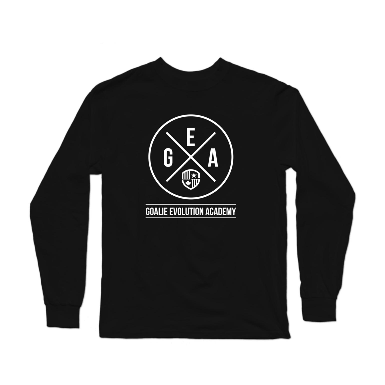 GEA White Logo Longsleeve Shirt