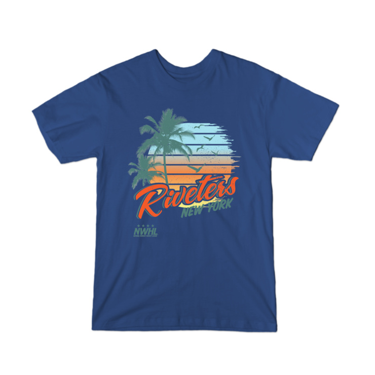 New York Riveters Summer T-Shirt