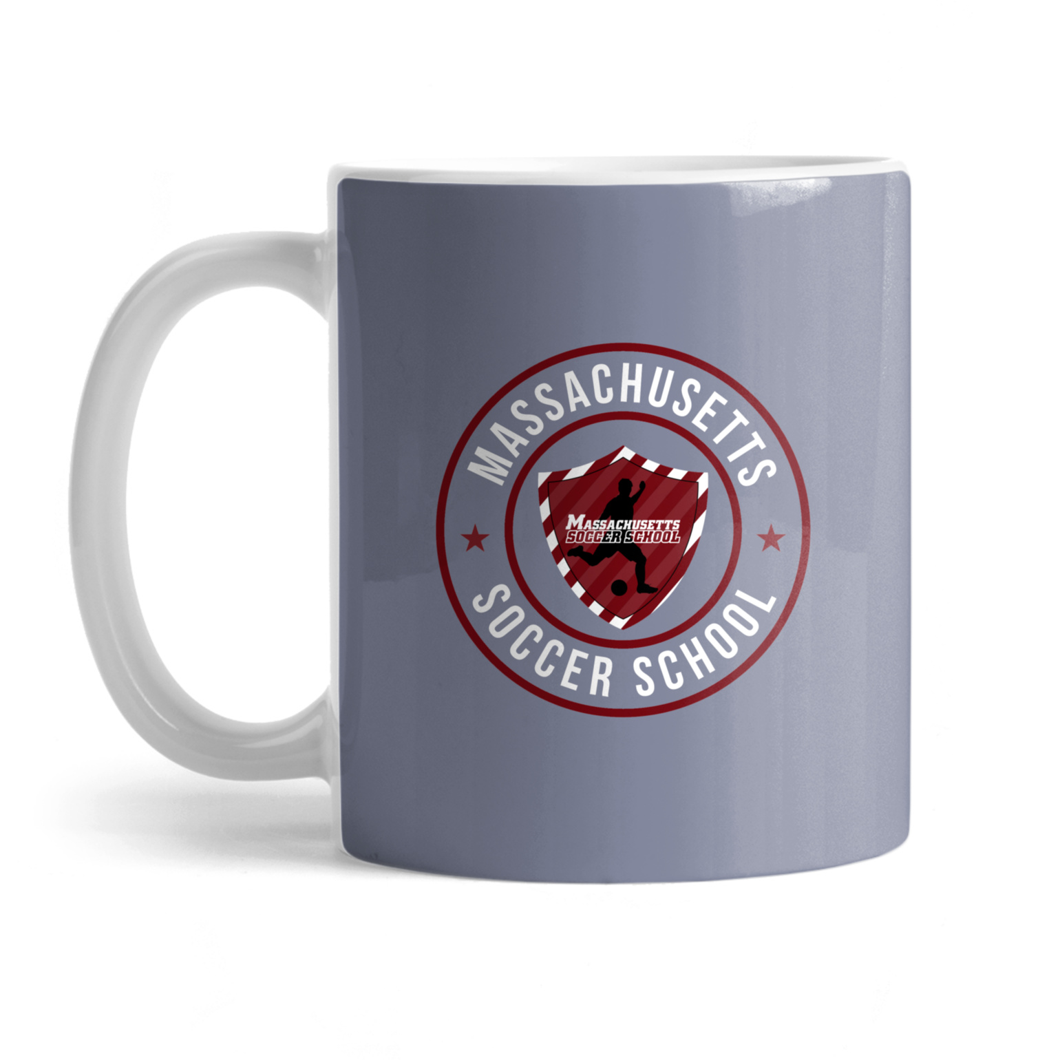 Massachusetts Soccer School Mug