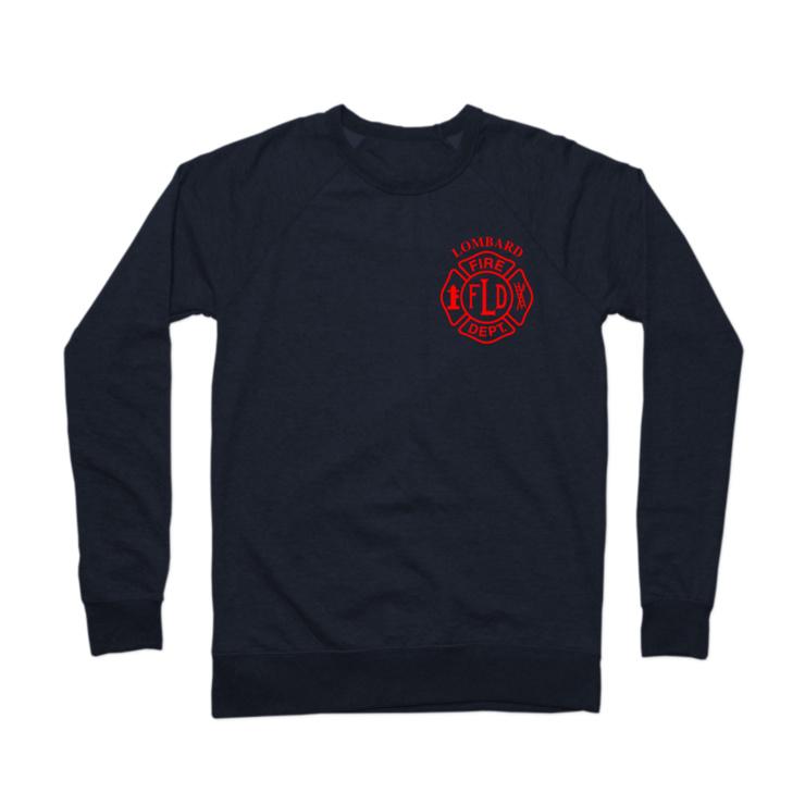 LFD Badge (Red) Crewneck Sweatshirt