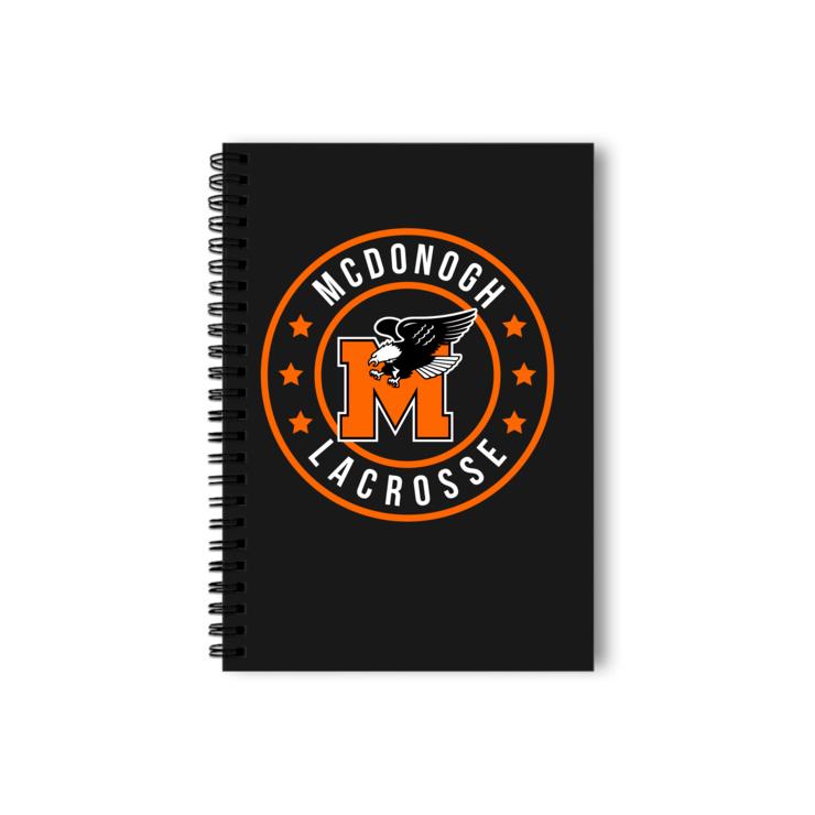 McDonogh Eagles Lax Badge Notebook