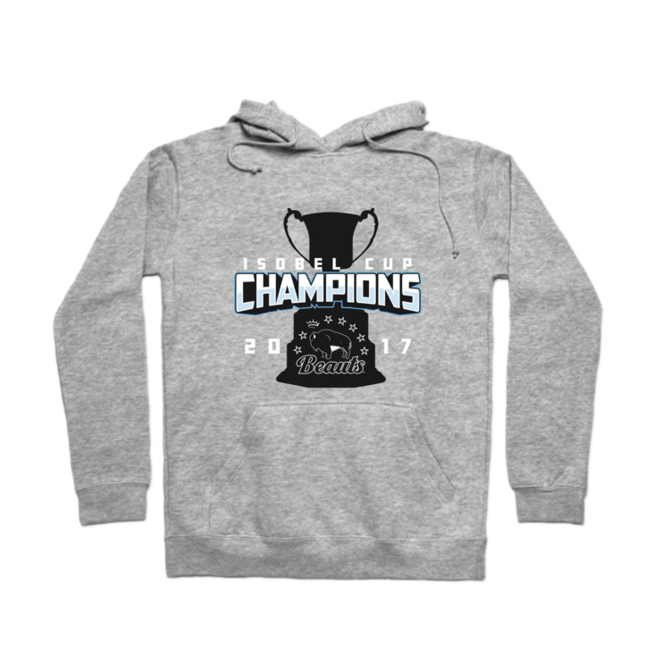 Beauts Isobel Cup Champions Pullover Hoodie