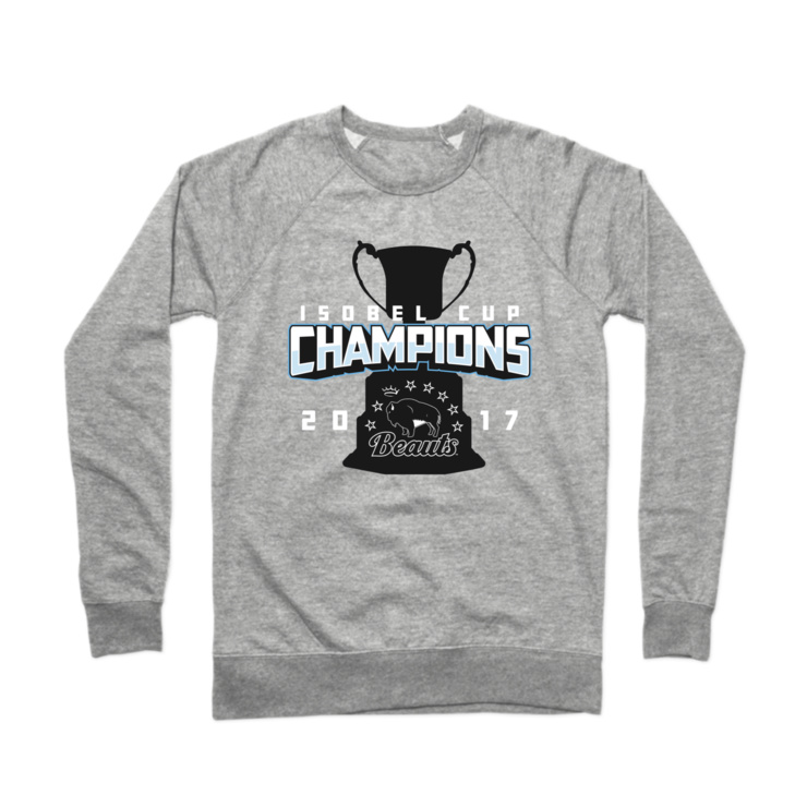 Beauts Isobel Cup Champions Crewneck Sweatshirt