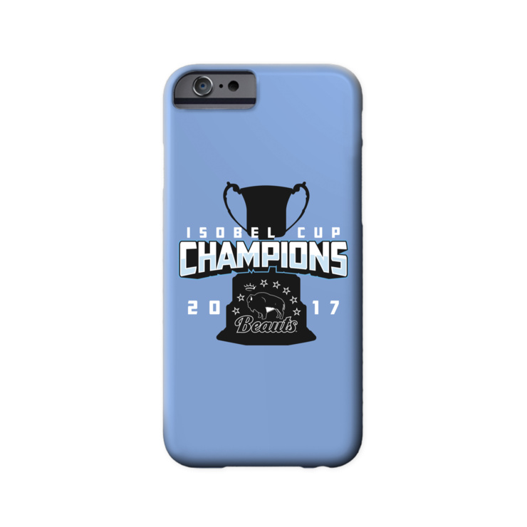 Beauts Isobel Cup Champions Phone Case