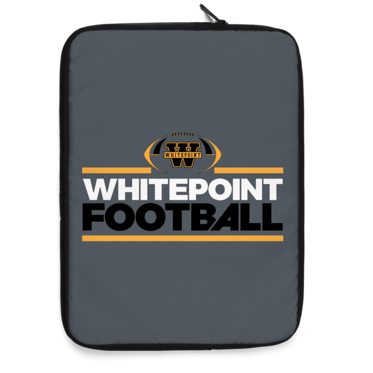 White Point Youth Football Laptop Sleeve