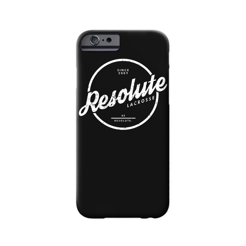 Be Resolute Phone Case