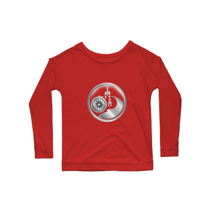 Fit Dad Nation Center Logo Longsleeve Shirt