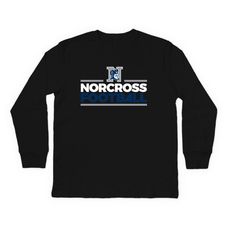 Norcross Football Longsleeve Shirt