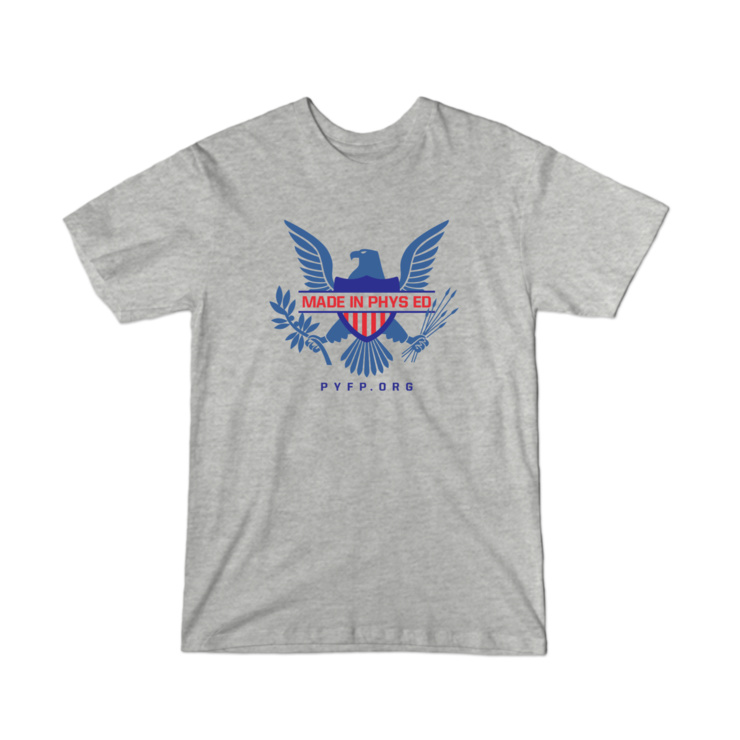 Made in Phys Ed (2XL+) T-Shirt