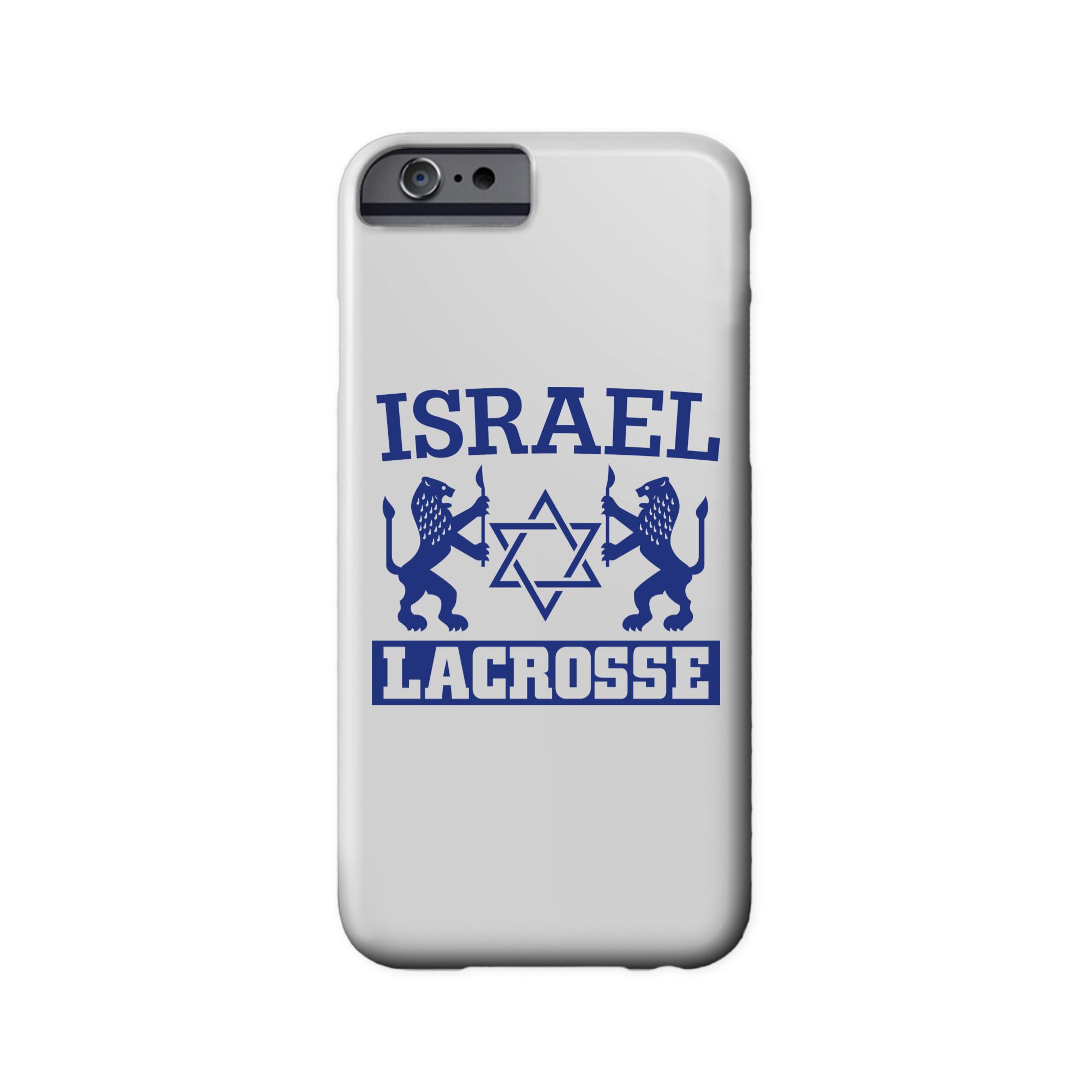Israel Lacrosse Phone Case