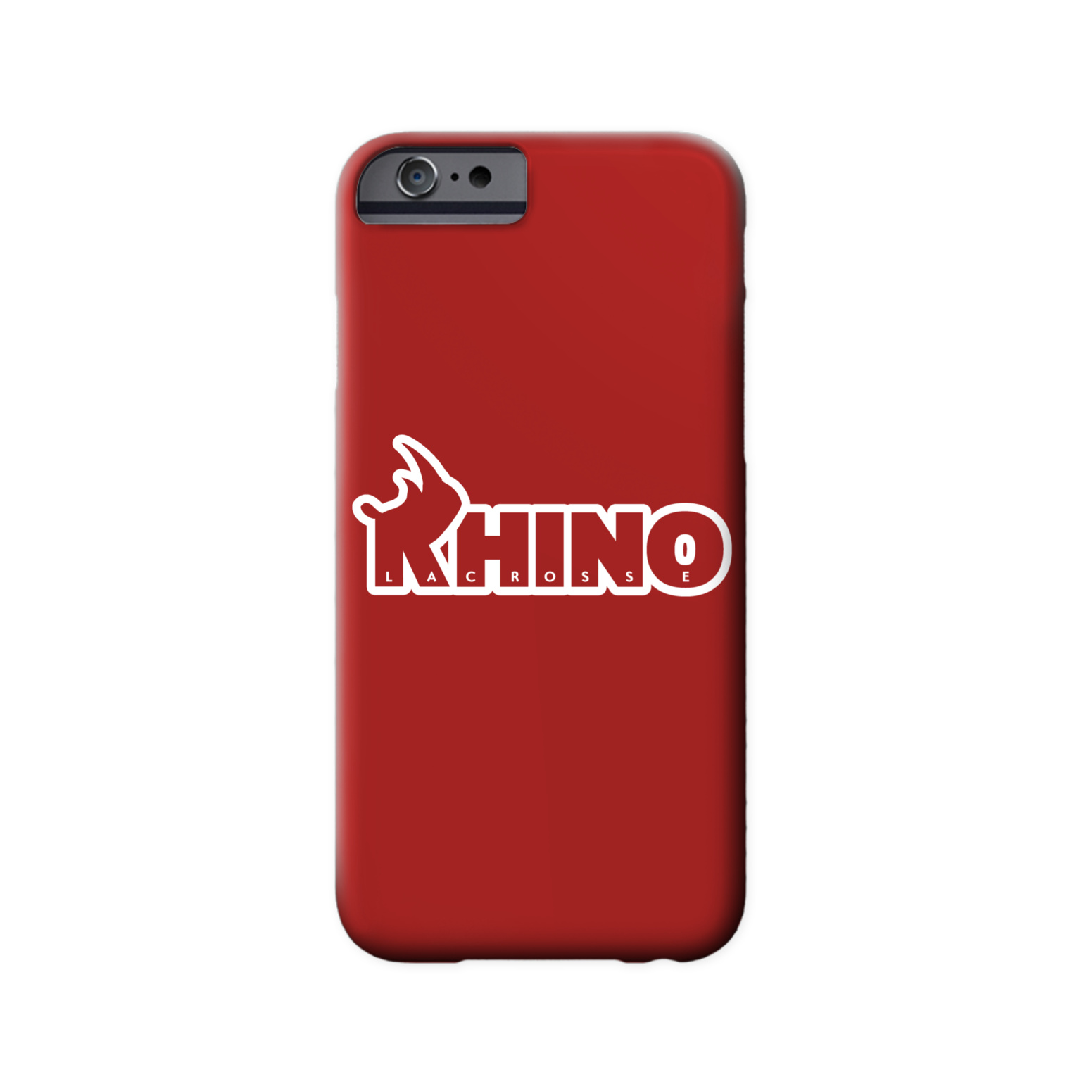 Rhino Lacrosse Phone Case
