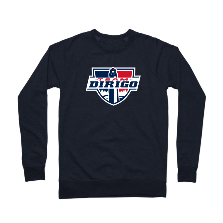 Shield Hoody Crewneck Sweatshirt