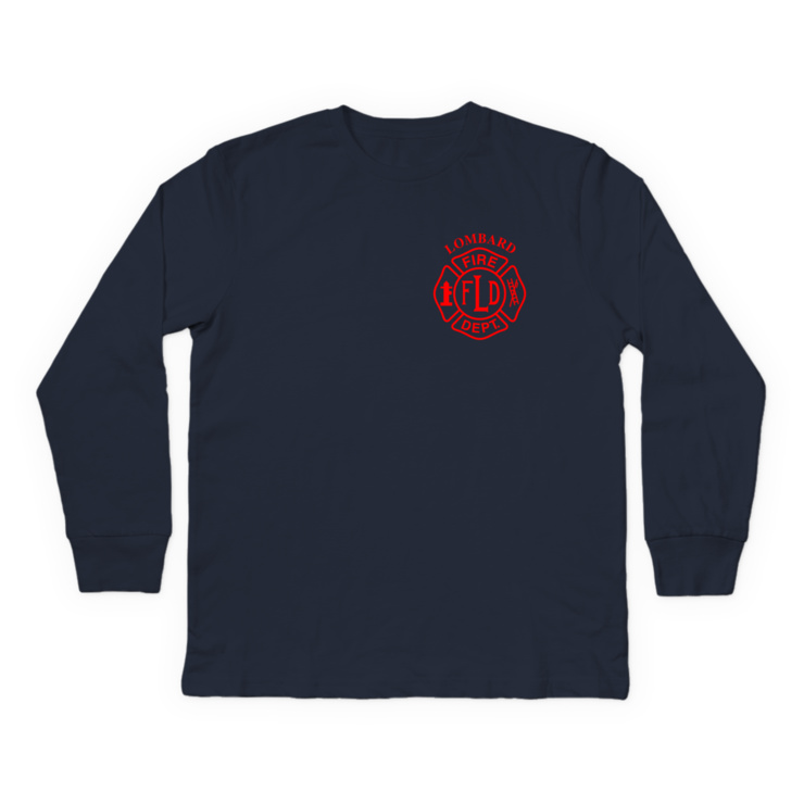 LFD Badge (Red) Longsleeve Shirt