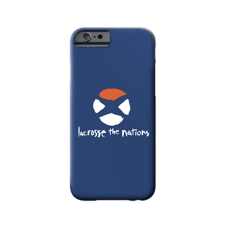Orange Globe 2 Phone Case