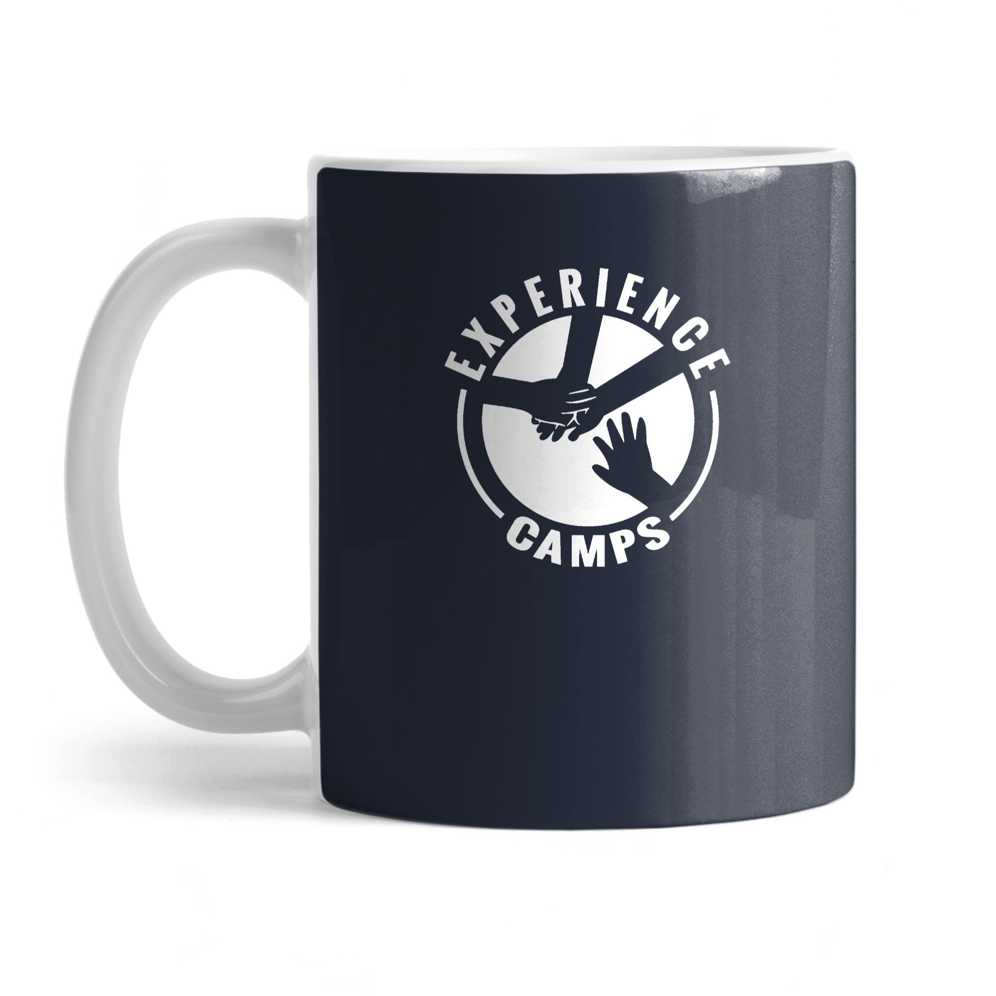 White ExCamps Logo Mug
