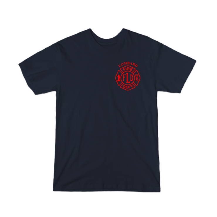LFD Badge (Red) Youth T-Shirt