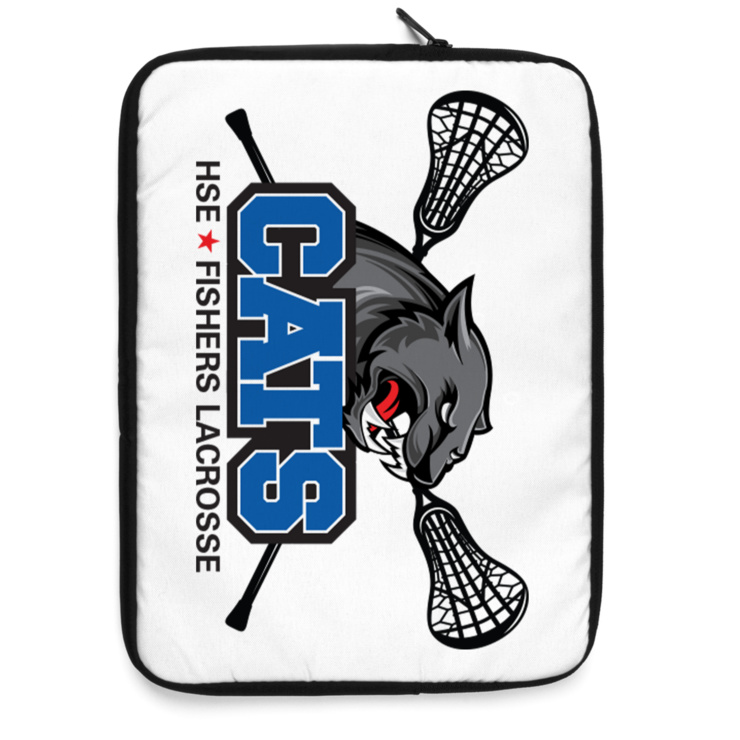 HSE Fishers Lacrosse Laptop Sleeve