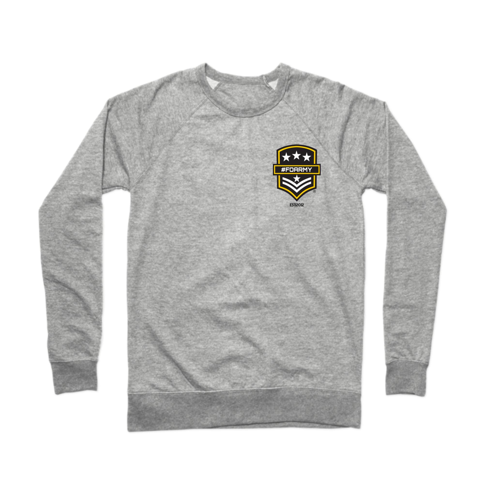 FOA Est. 2012 Corner Logo Crewneck Sweatshirt