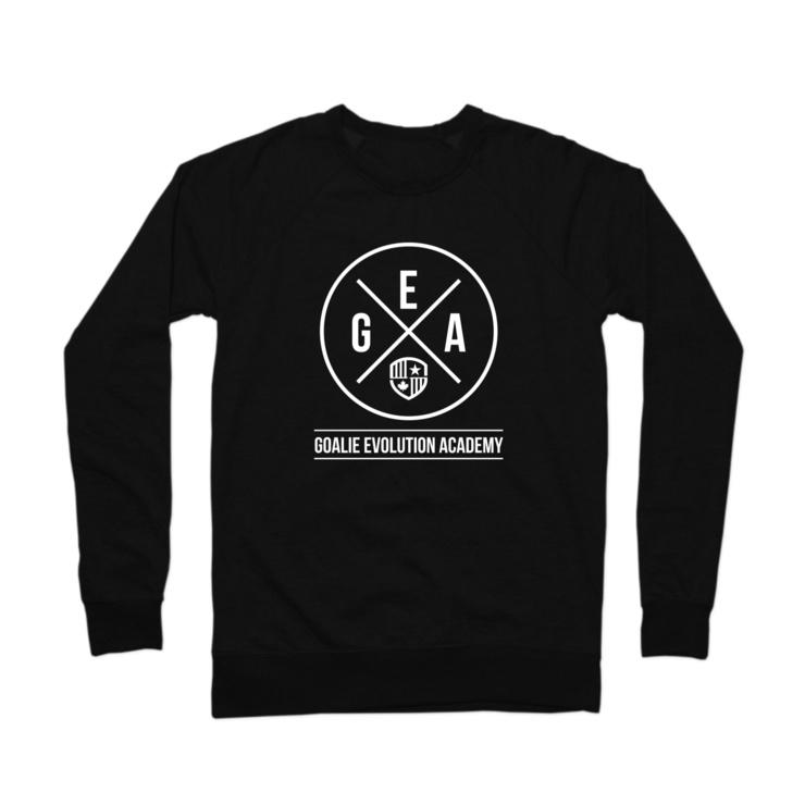 GEA White Logo Crewneck Sweatshirt