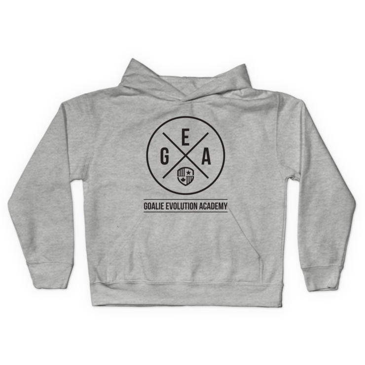 GEA Black Logo Pullover Hoodie