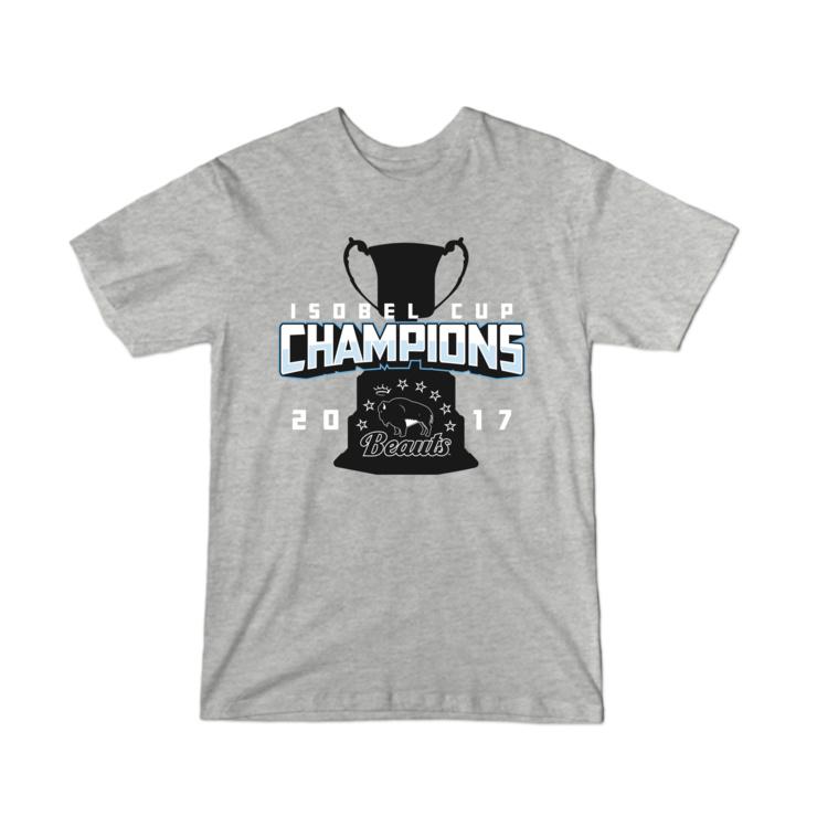 Beauts Isobel Cup Champions T-Shirt