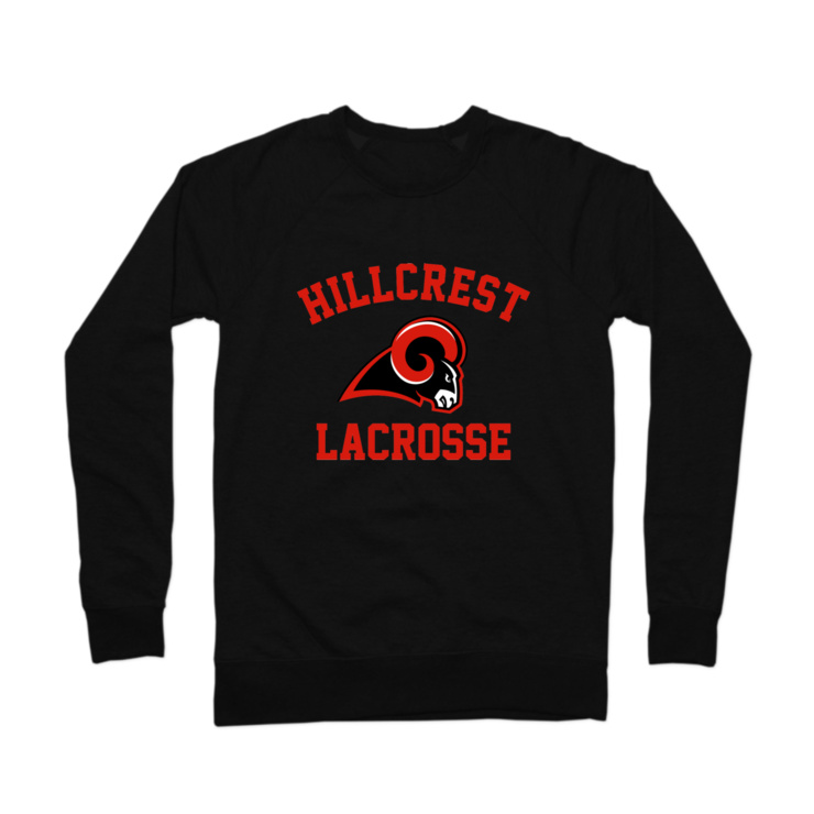 Hillcrest Lacrosse Crewneck Sweatshirt