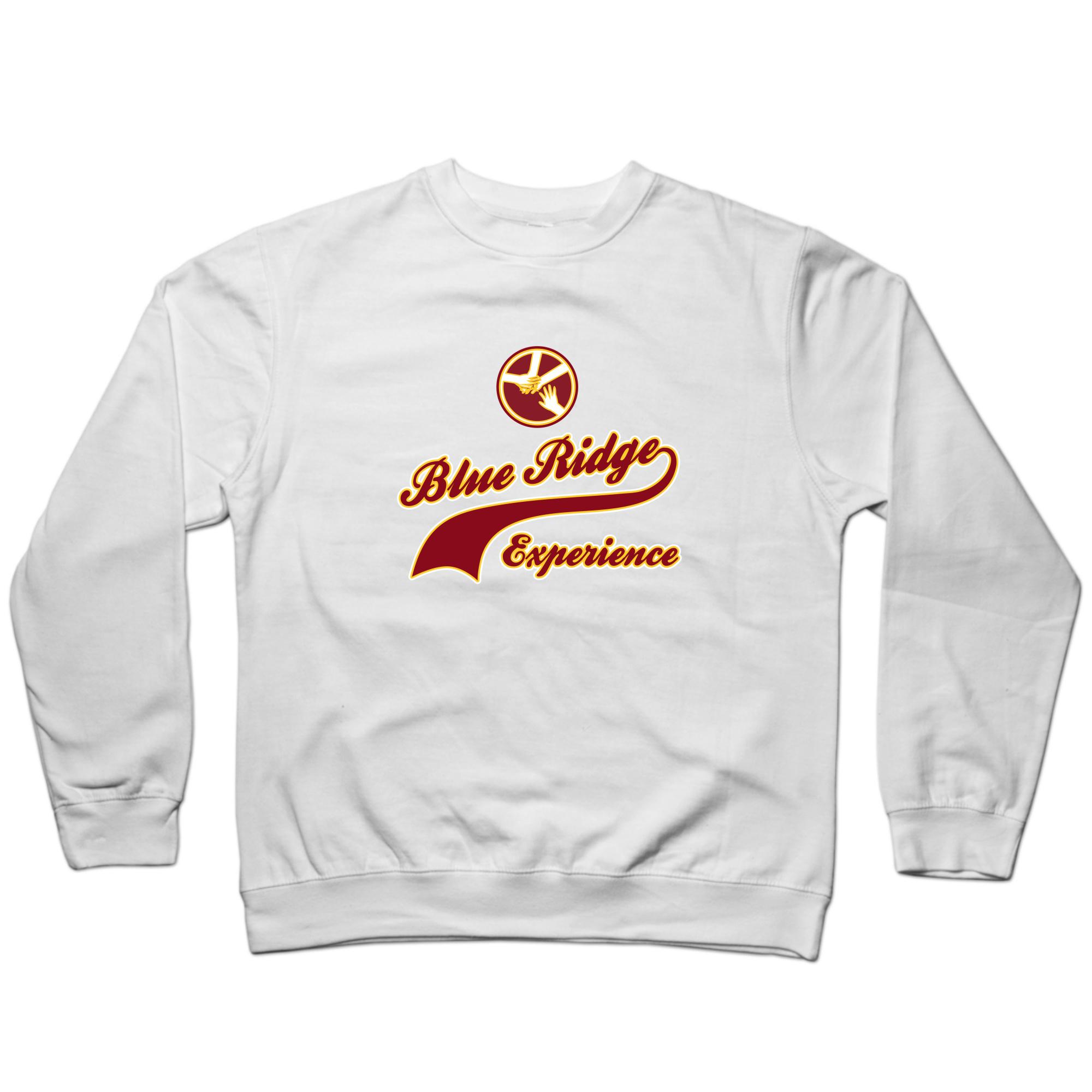Blue Ridge Maroon & Gold Crewneck Sweatshirt