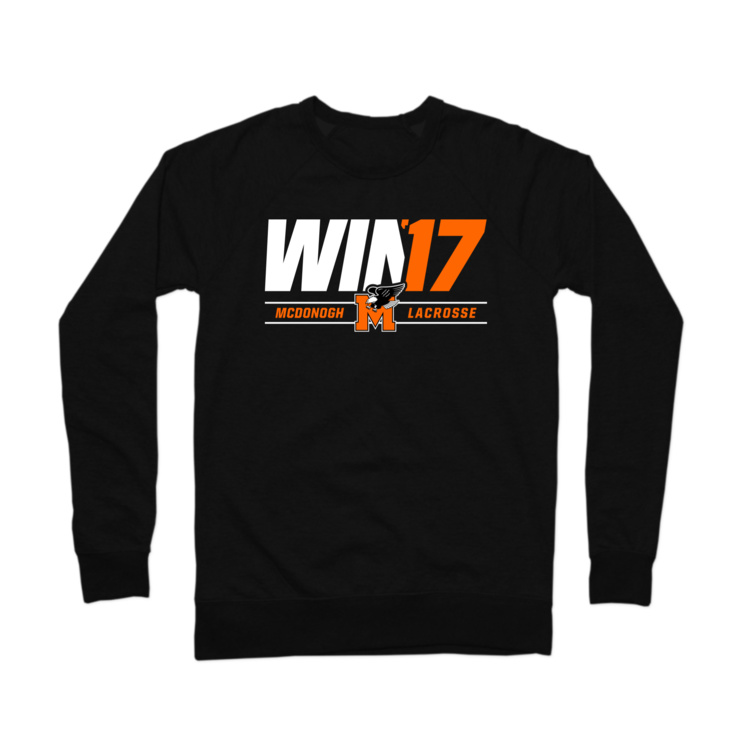 McDonogh Win '17 Playoffs Crewneck Sweatshirt