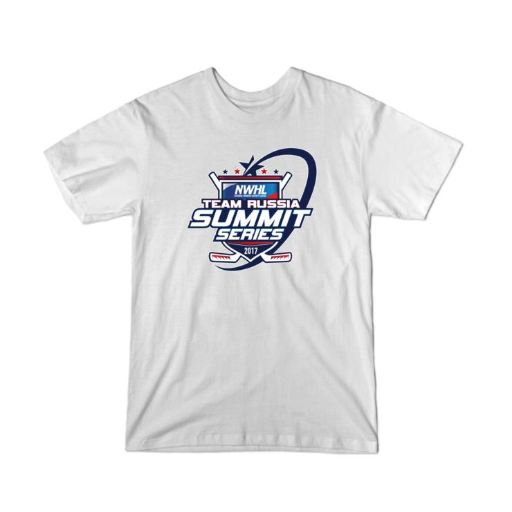 NWHL Team Russia Summit Series T-Shirt