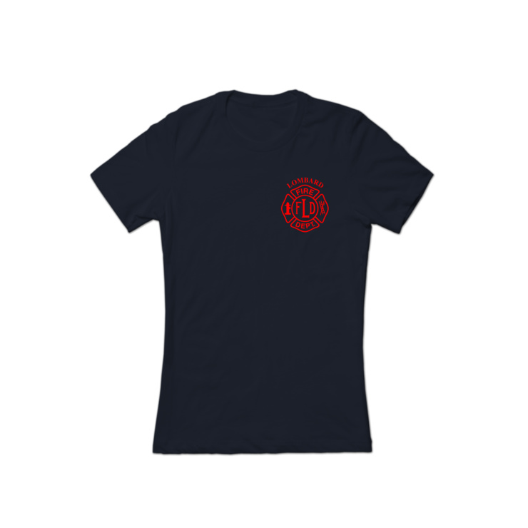 LFD Badge (Red) T-Shirt