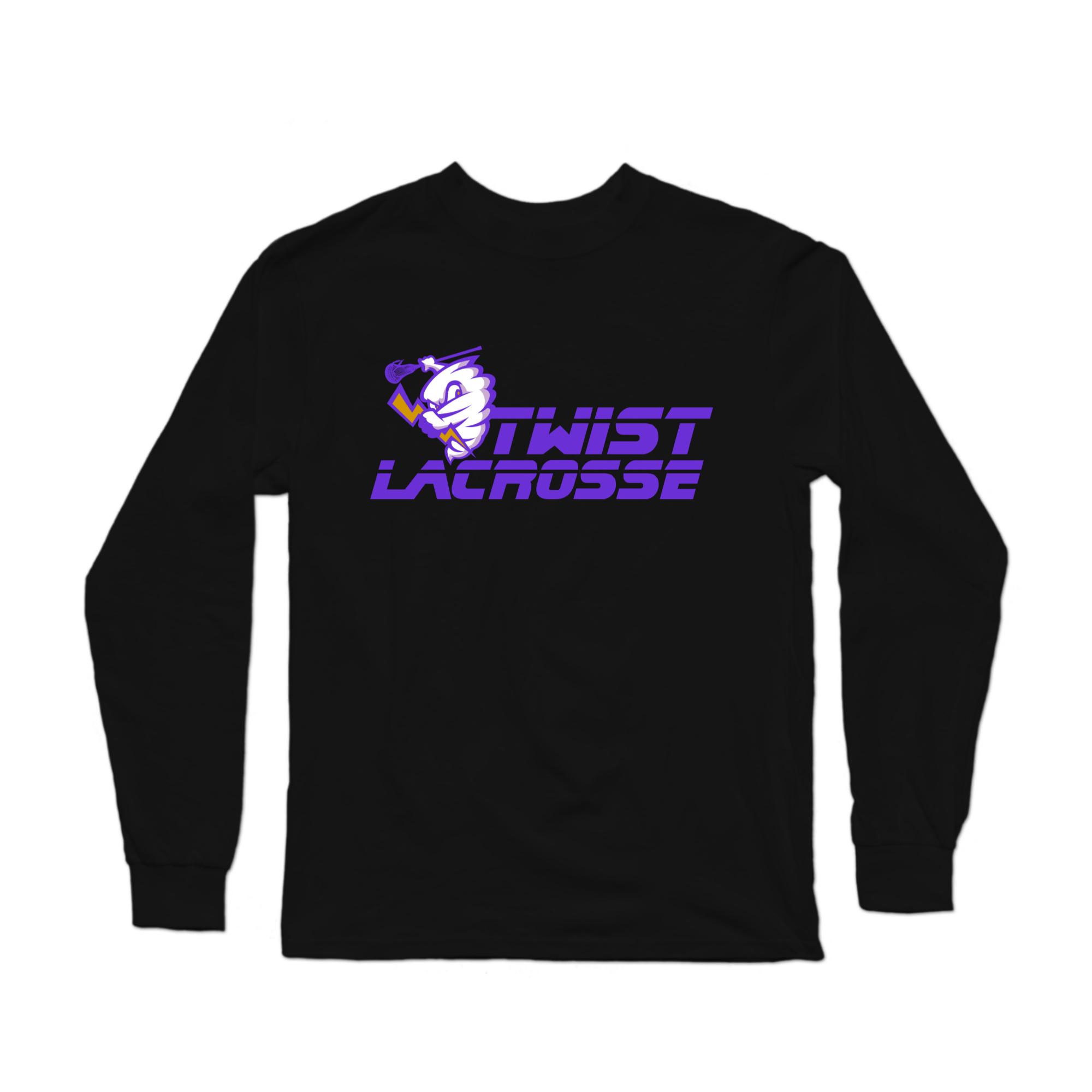 Twist Lacrosse Long Sleeve: Custom Sleeve Print