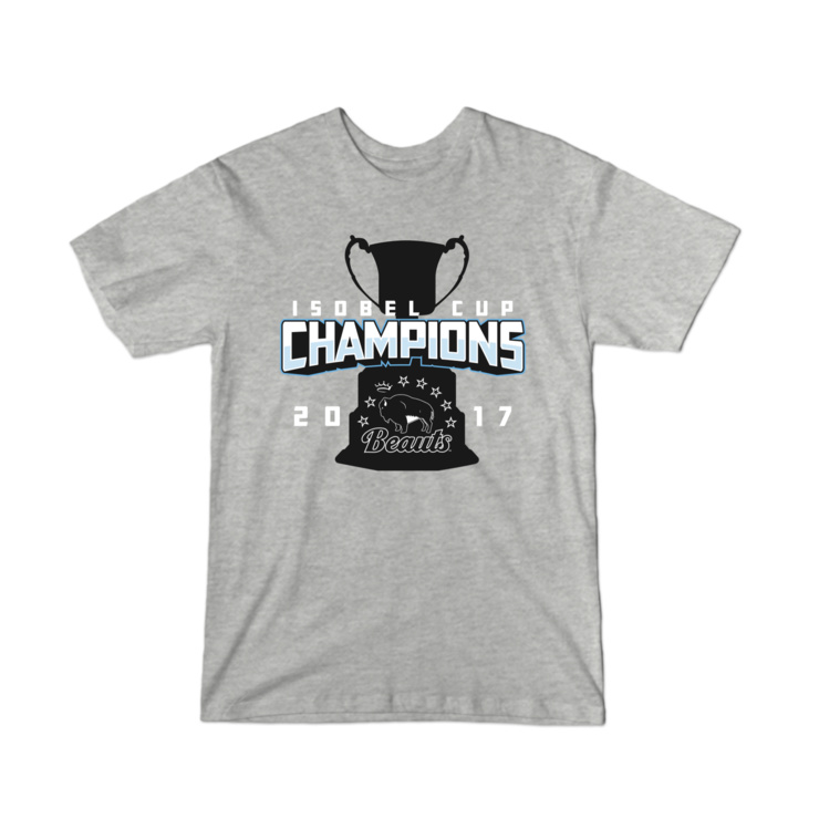 Beauts Isobel Cup Champions Youth T-Shirt