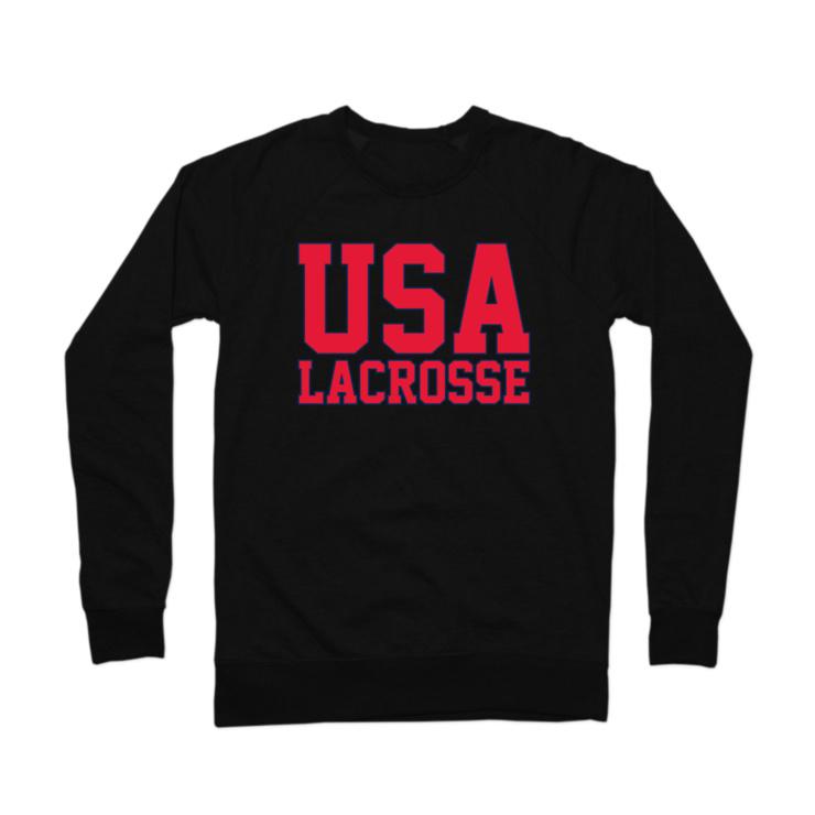 USA Lacrosse Crewneck Sweatshirt