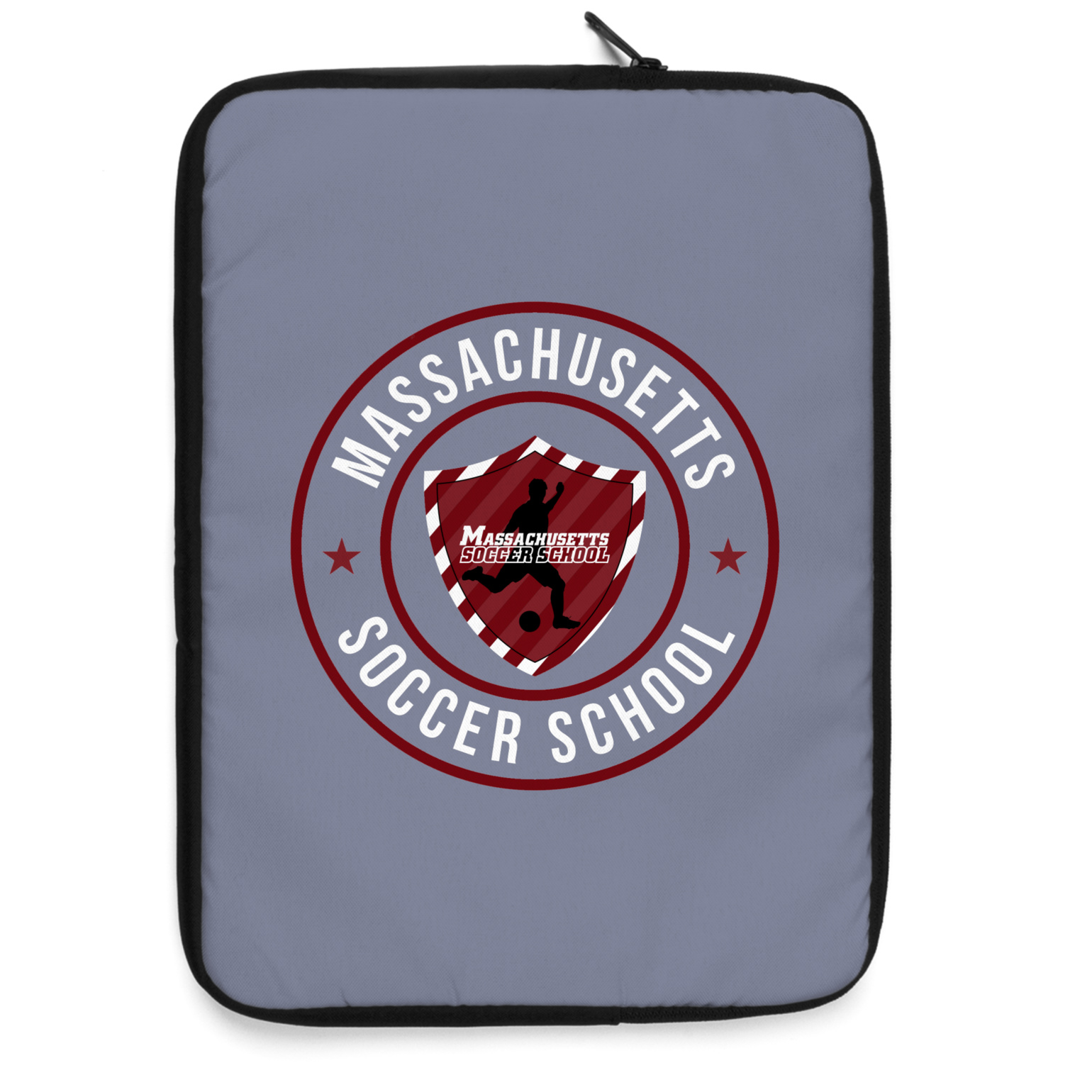 Massachusetts Soccer School Laptop Sleeve