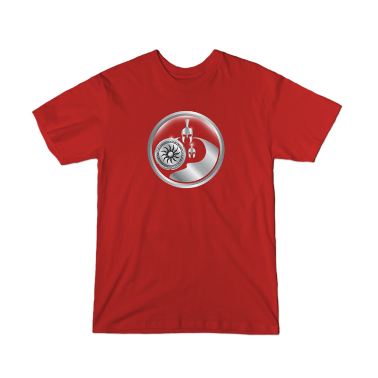 Fit Dad Nation Center Logo T-Shirt