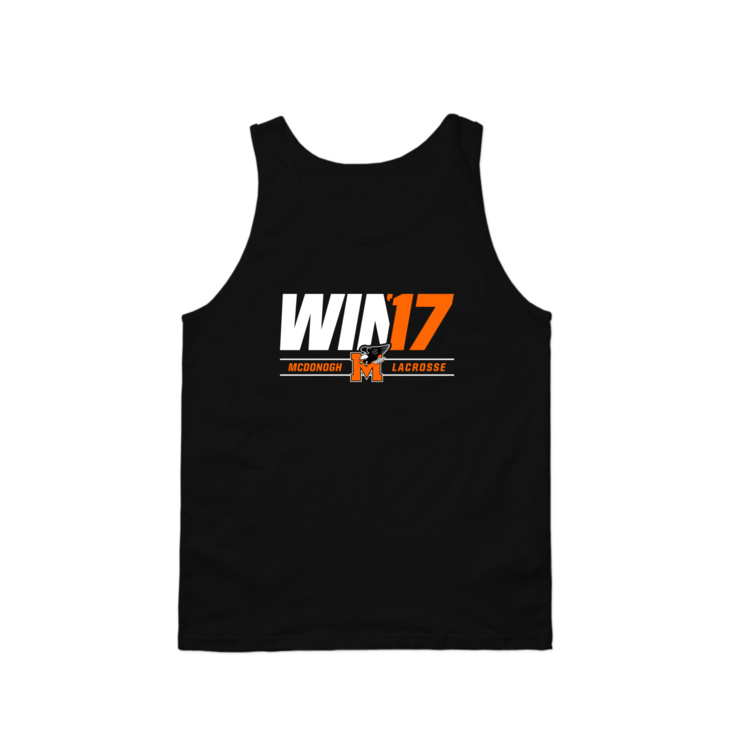 McDonogh Win '17 Playoffs Tank Top