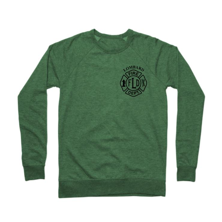 LFD Badge (Black) Crewneck Sweatshirt