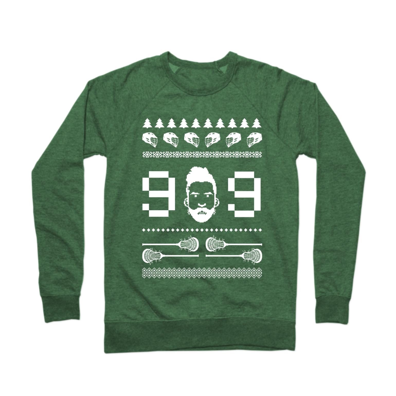 Holiday Lax Sweater Crewneck Sweatshirt