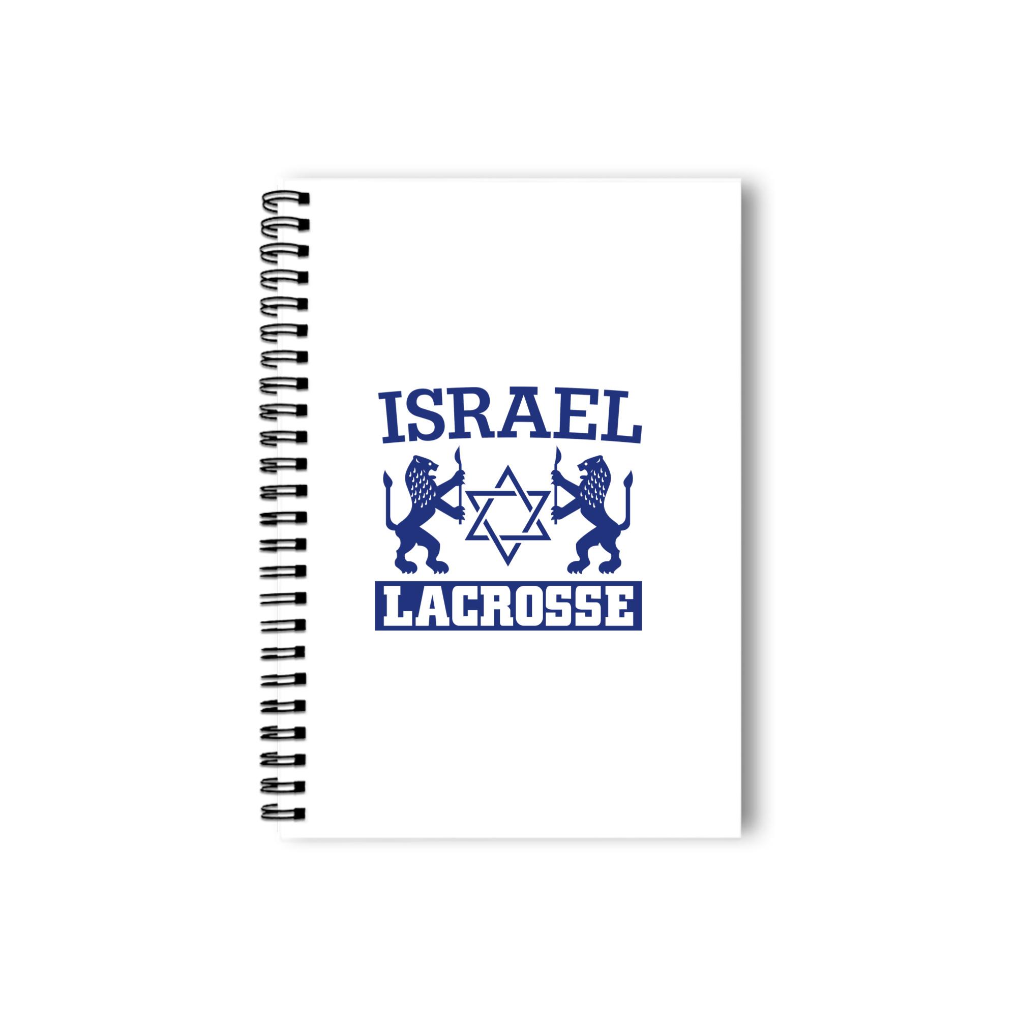 Israel Lacrosse Notebook