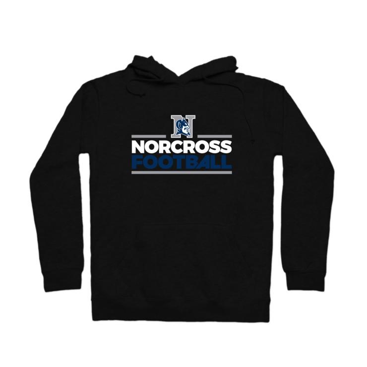 Norcross Football Pullover Hoodie