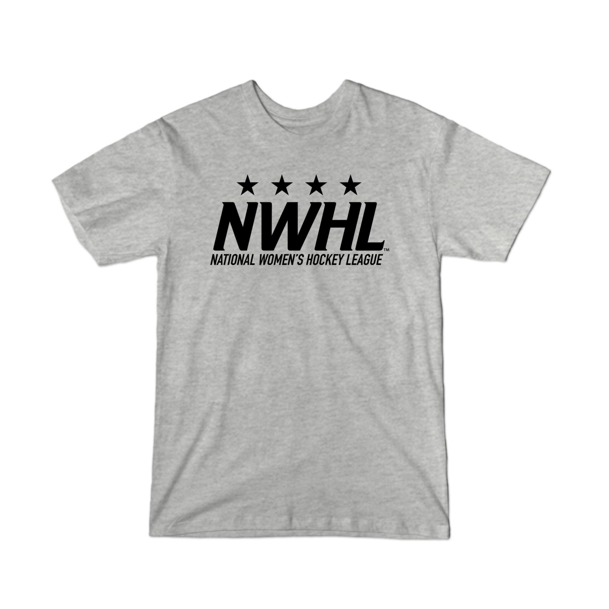 NWHL Black Logo T-Shirt