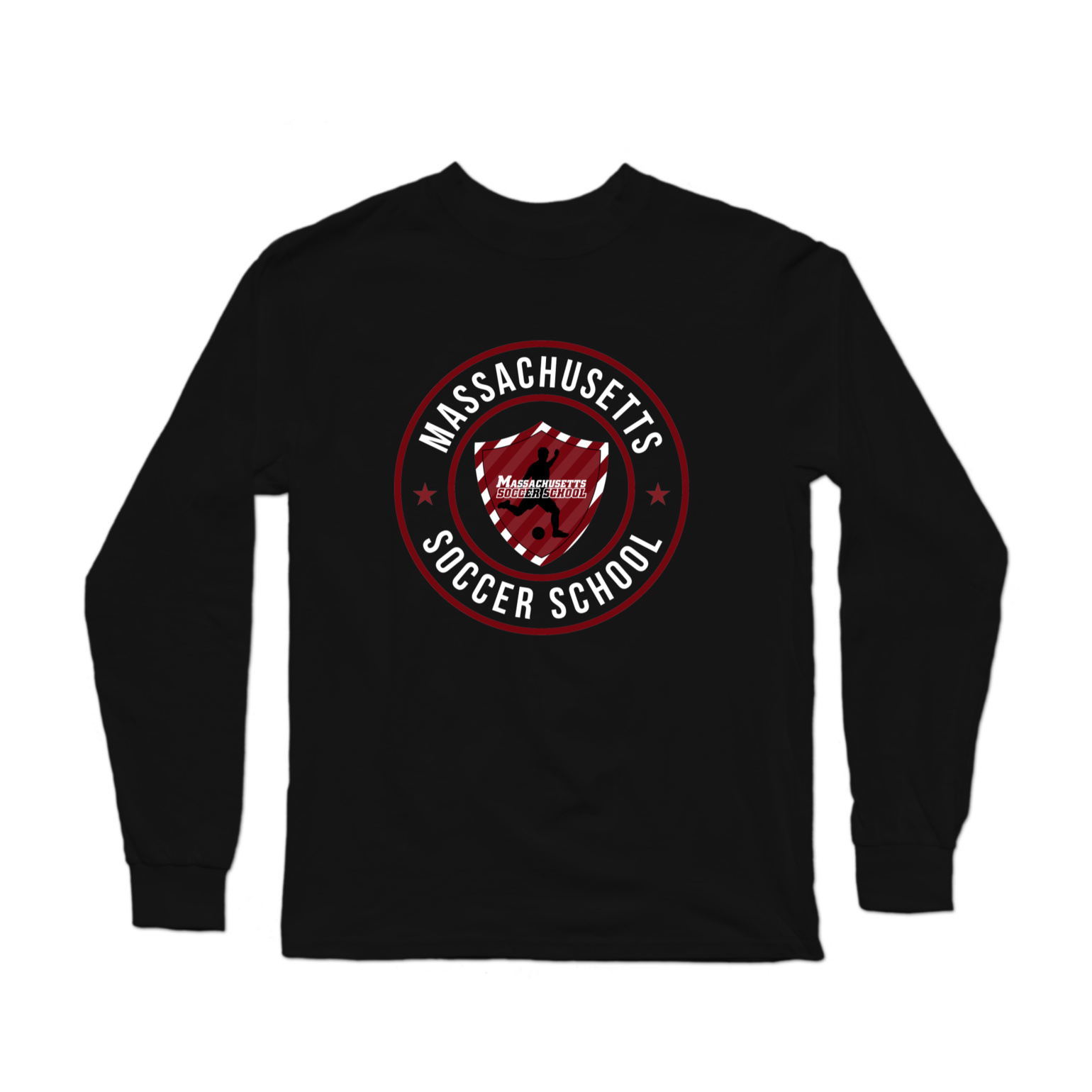 Massachusetts Soccer School Longsleeve Shirt