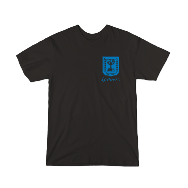 Israel Lacrosse Emblem Tee