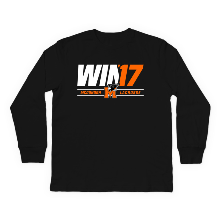McDonogh Win '17 Playoffs Longsleeve Shirt