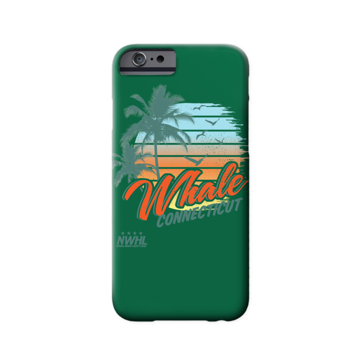 Connecticut Whale Summer Phone Case