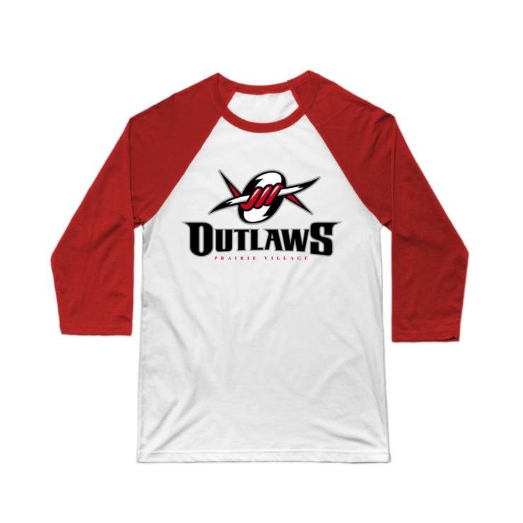 PV Outlaws Baseball Tee