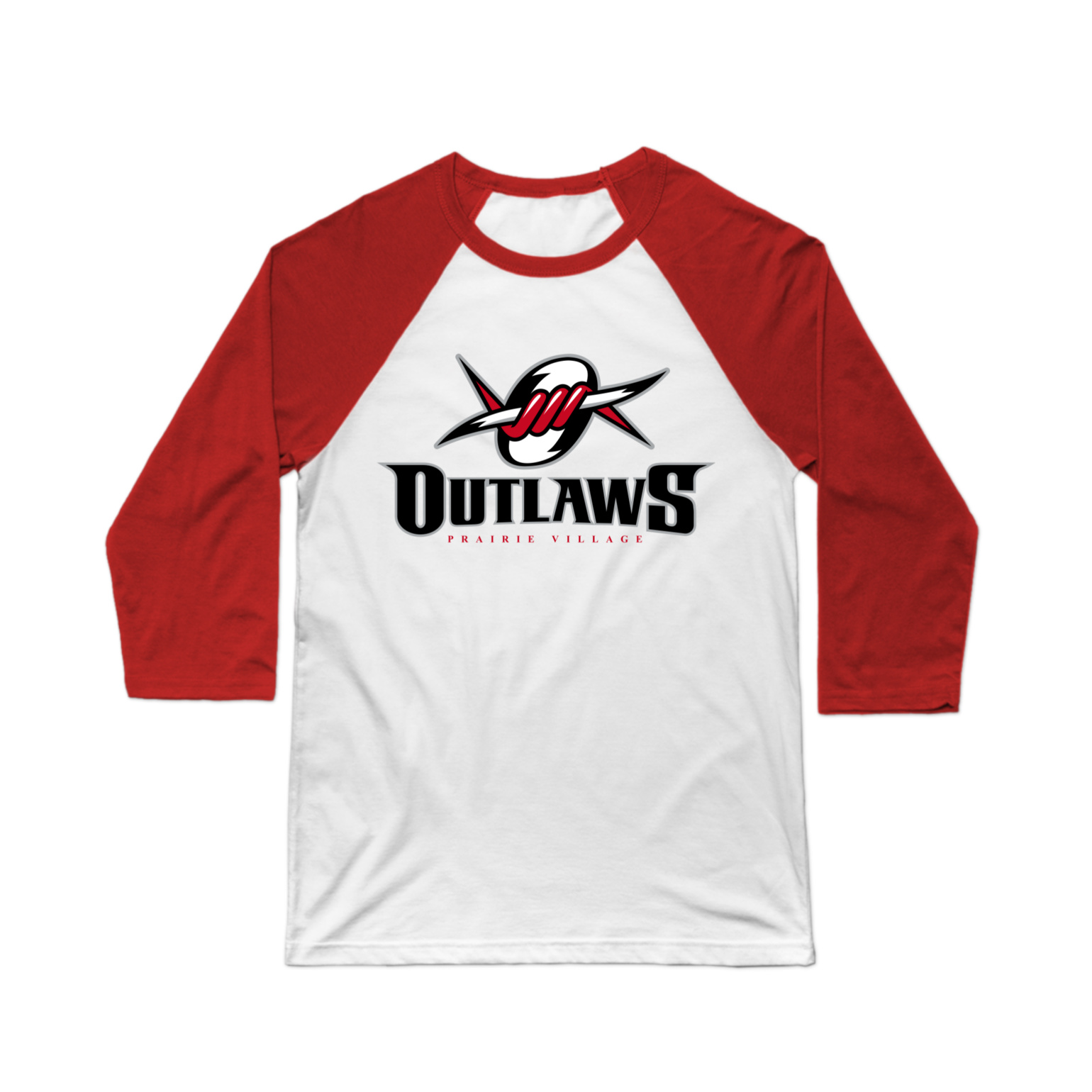 PV Outlaws Baseball Tee