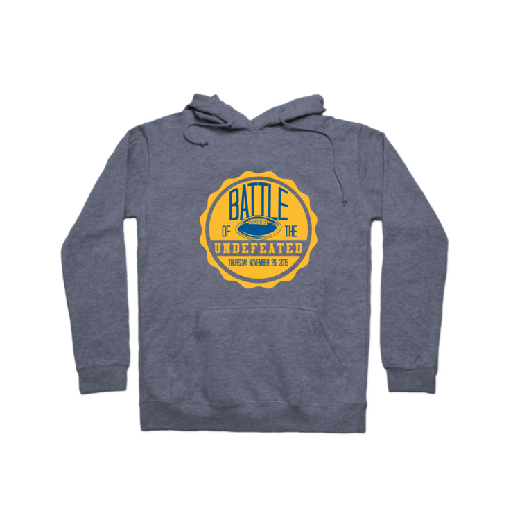 Thanksgiving Rivalry Game Hoodie