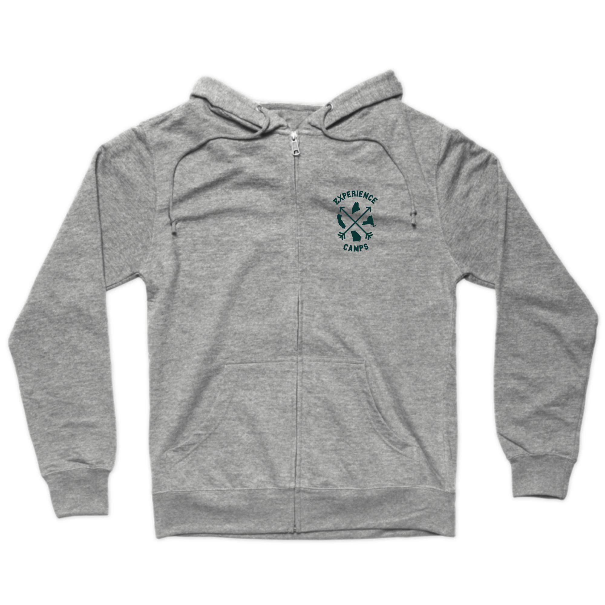 States Logo Zip Hoodie
