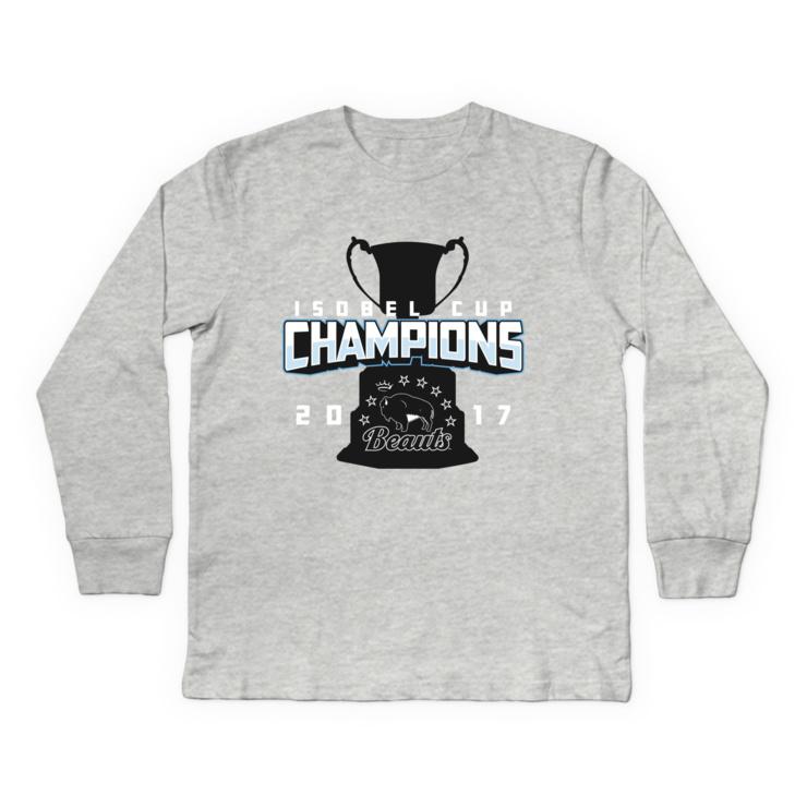 Beauts Isobel Cup Champions Longsleeve Shirt